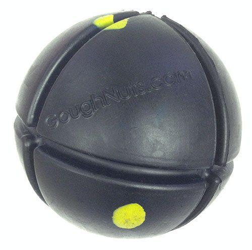 GoughNuts Interactive Black Chew Ball