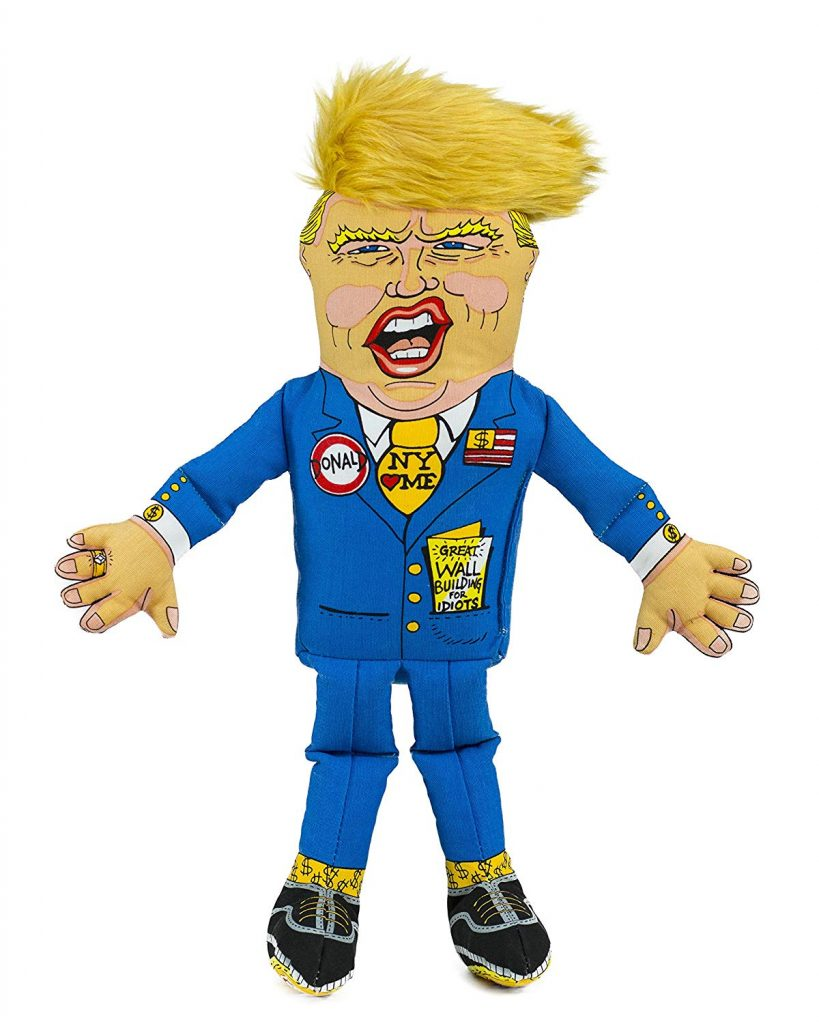 ​Fuzzu Presidential Parody Dog or Cat Toy
