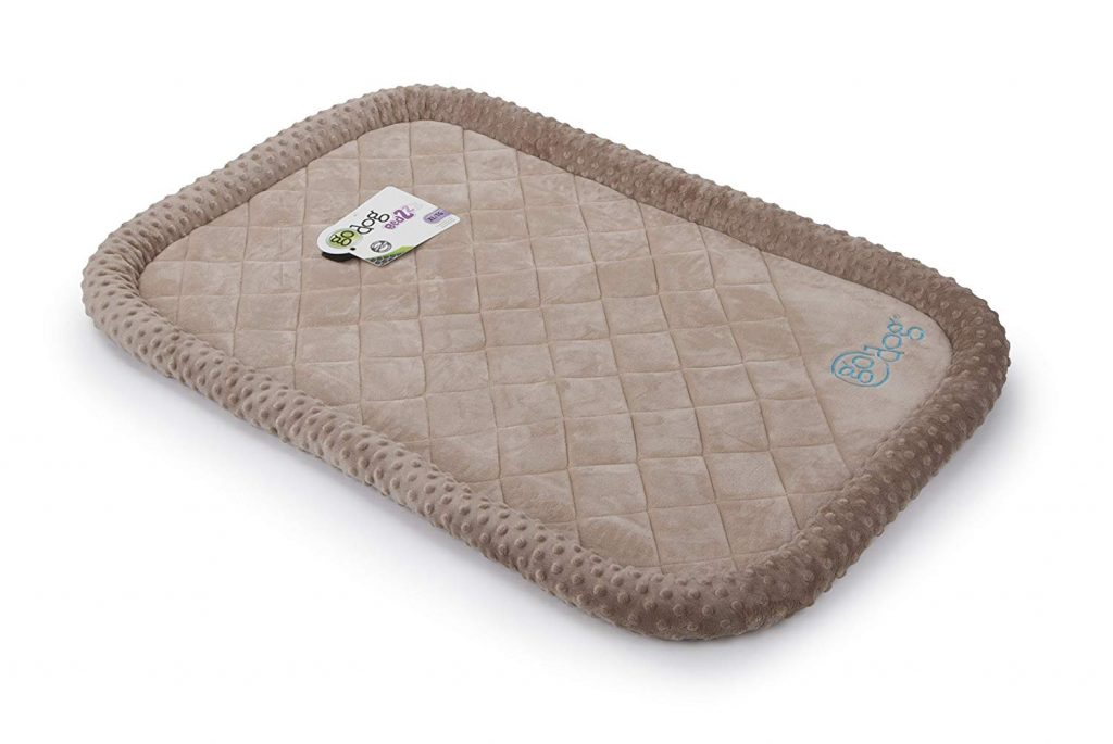 GoDog Bed Bubble Bolster featuring Chew Guard Technology