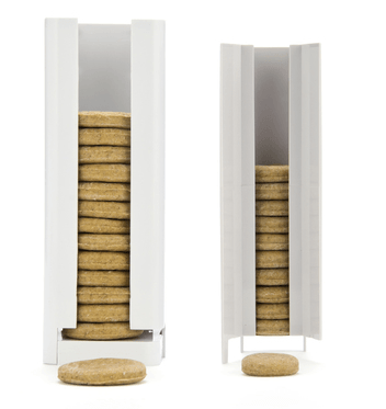 Sizes of different cookies for the IcPooch compared